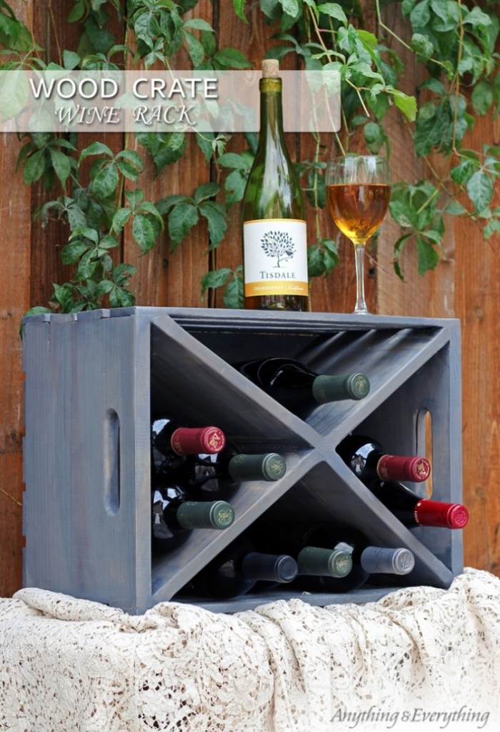 Repurposing DIY Wood Crate Projects