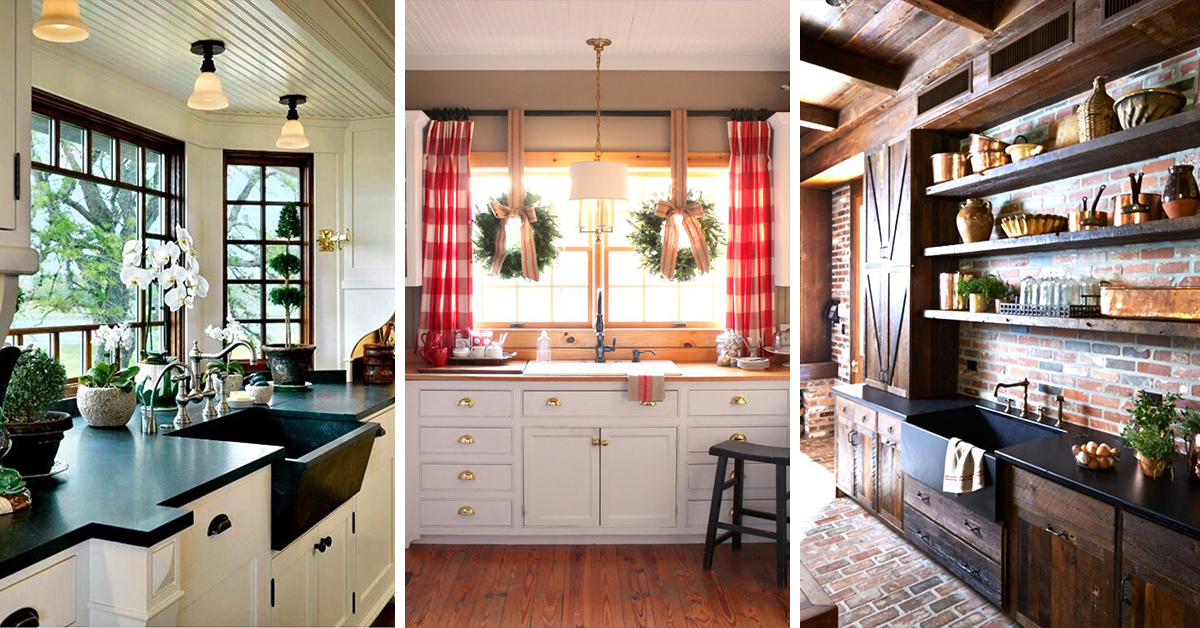 23 Best Rustic Country Kitchen Design Ideas And