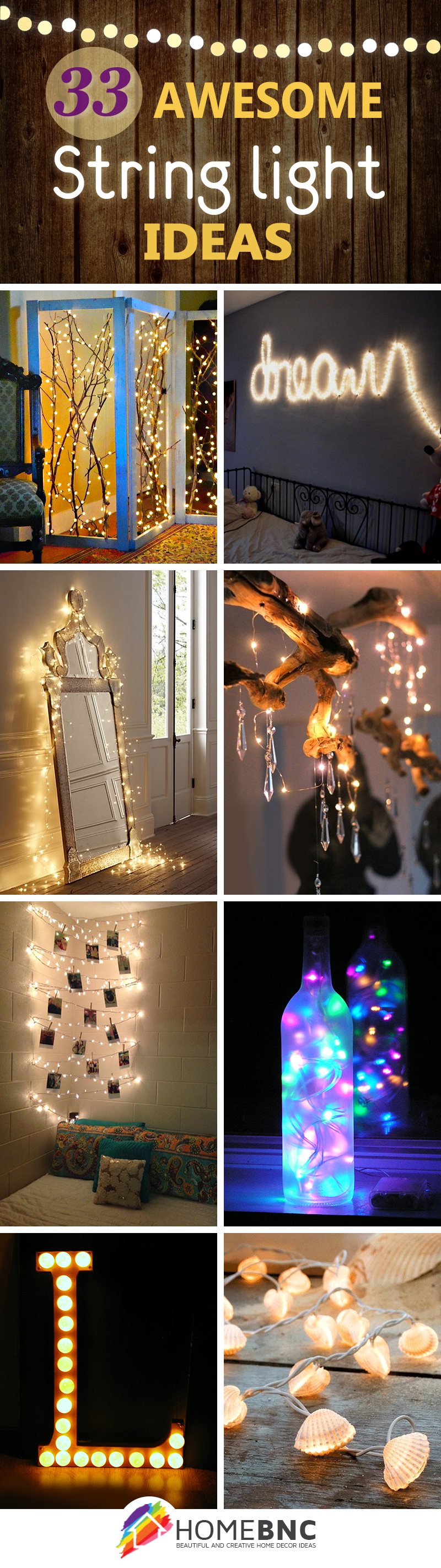 33 best string lights decorating ideas
