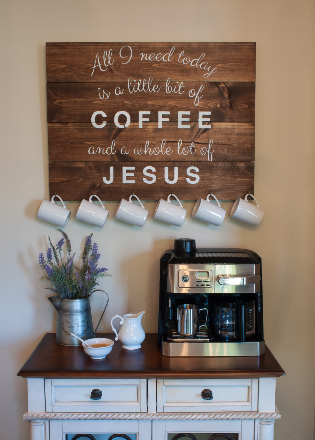 coffee decor for kitchen painting cupboards 23 best station ideas and designs 2019
