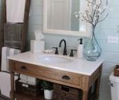 rustic bathroom hardware
