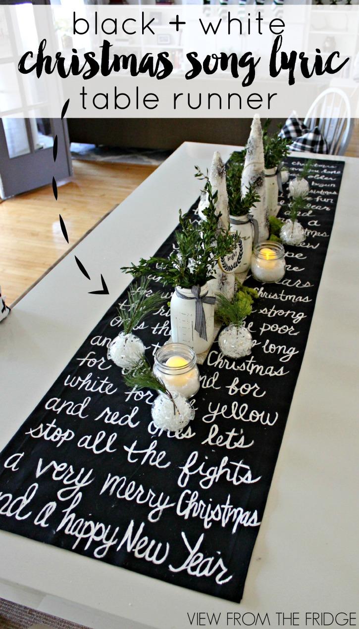 diy christmas table decoration ideas
