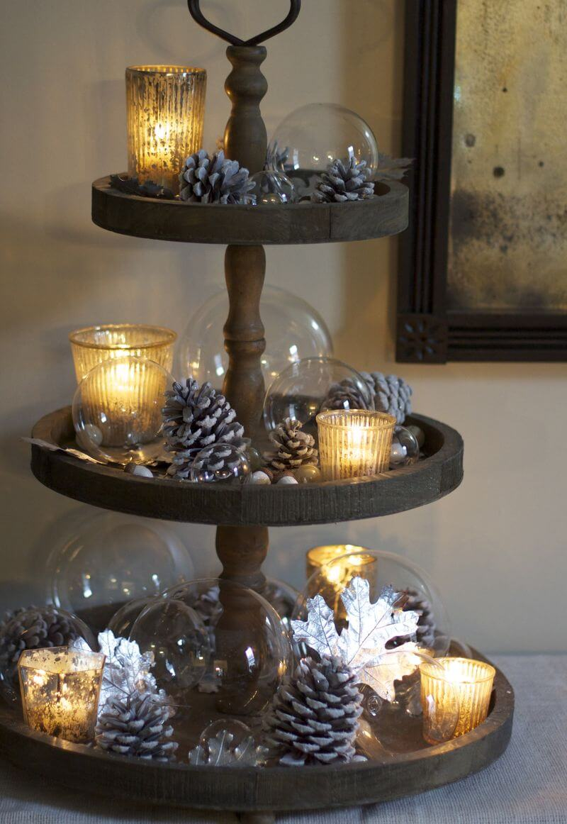 21 Best Christmas Cake Stand Decorating Ideas and Designs for 2019