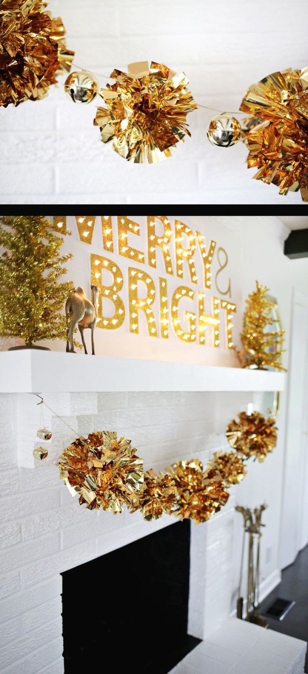 DIY Christmas Garland Decorating Ideas