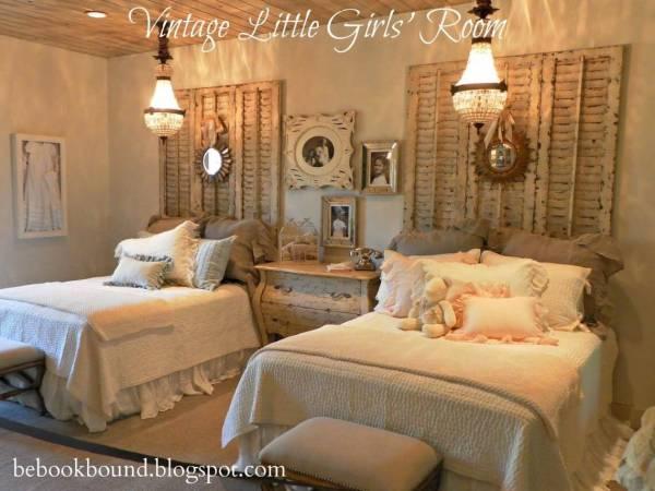 Vintage Girls Bedroom Decorating Ideas