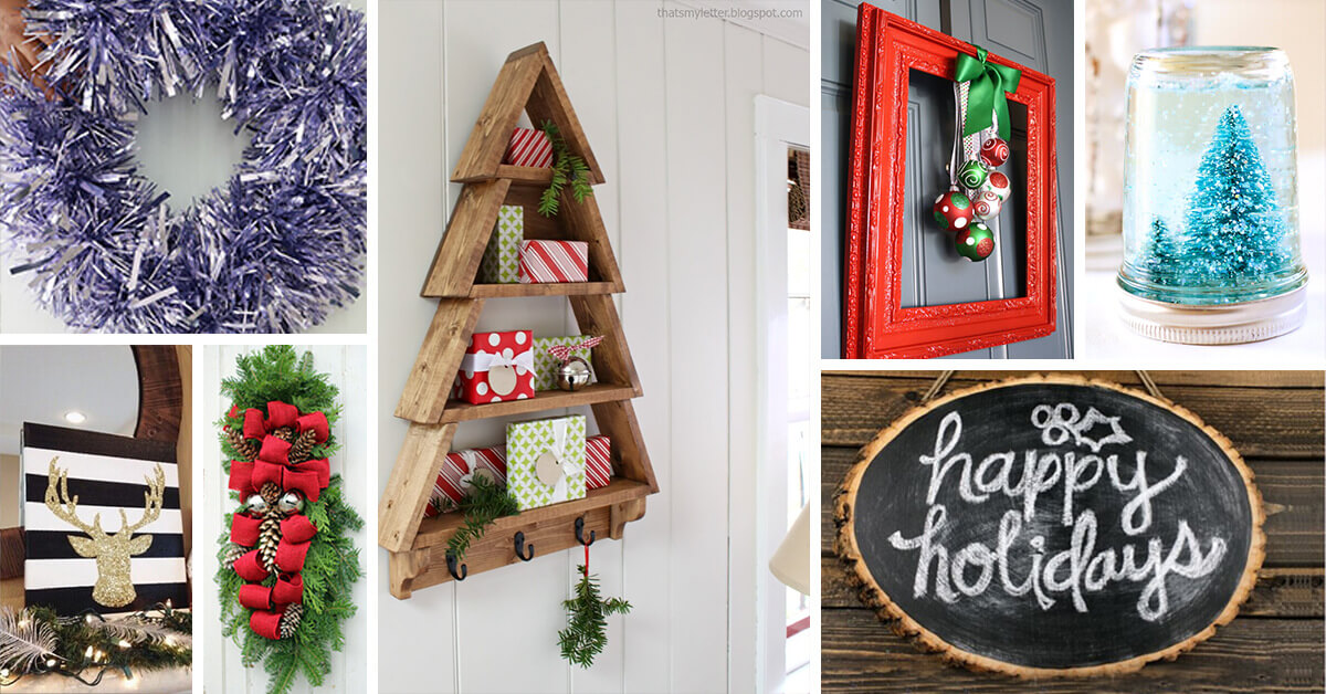 33 Best Diy Christmas Decorations Ideas And Designs For 2020