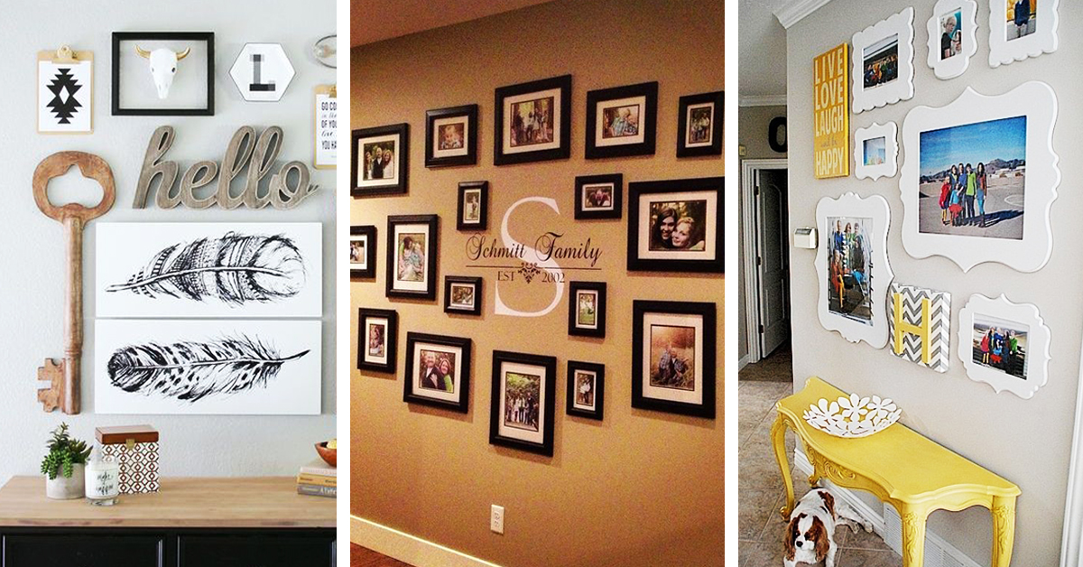 32 Best Gallery Wall Ideas And Decorations For 2020