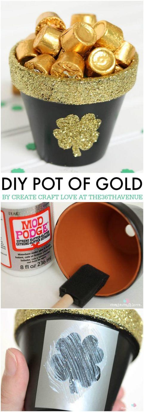Terra Cotta Pot of Gold Craft
