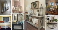37 Best Entry Table Ideas (Decorations and Designs) for 2018
