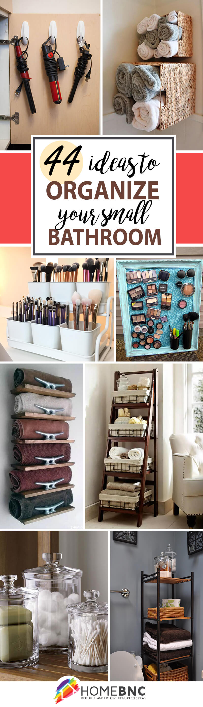 How To Organize A Bathroom 44 Best Small Bathroom Storage Ideas And Tips For 2019
