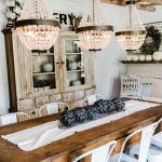 37 Best Farmhouse Dining Room Design And Decor Ideas For 2019