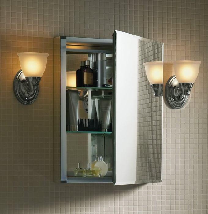 Kohler Single Door Aluminum Cabinet