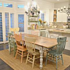 Farmhouse Dining Chairs Pool Deck 37 Best Room Design And Decor Ideas For 2019