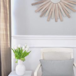 Diy Living Room Art Ideas Designs With Wooden Floors 36 Best Wall And Decorations For 2019 Paint Stick Sunburst Mirror
