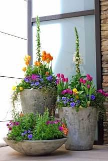 Front Door Flower Pots Ideas And Design 2019
