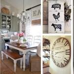 37 Best Farmhouse Dining Room Design And Decor Ideas For 2020