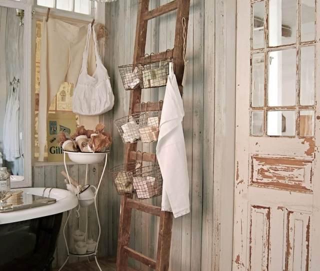 Lovely Shabby Chic Bathroom Decor Ideas