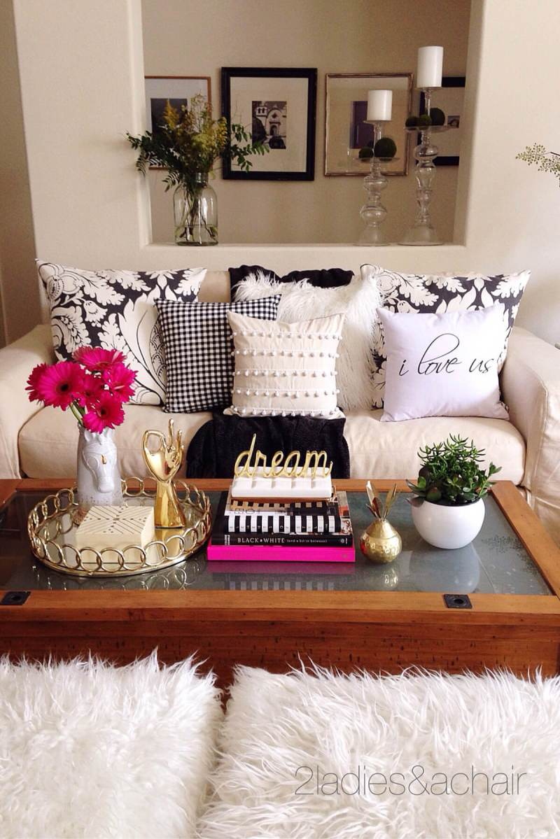 coffee table decorating ideas pictures | Billingsblessingbags.org
