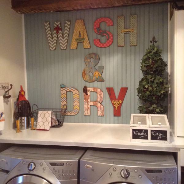 Vintage Laundry Room Decorating Ideas