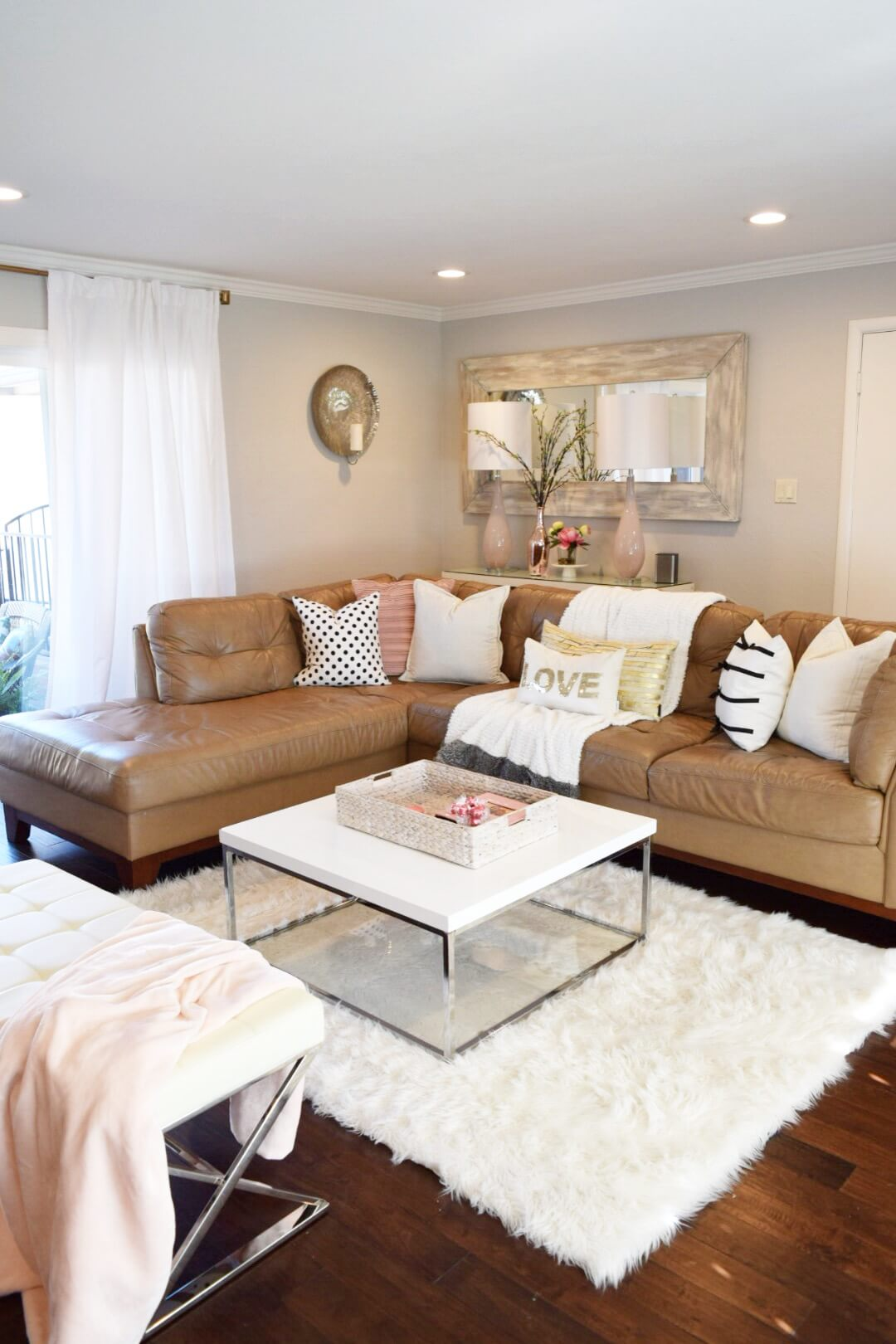 wall sofa cream sofas cheap 30 best decoration ideas above the for 2019 palatial style mounted mirror