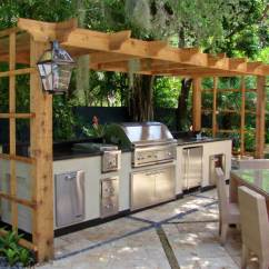 Outdoors Kitchen Triple Sink 27 Best Outdoor Ideas And Designs For 2019 6 Food Prep Station With Pergola