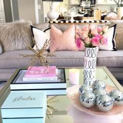 Living Room Side Table Decoration Ideas Design Dark Hardwood Floors 37 Best Coffee Decorating And Designs For 2019 Glamorous Mirrored With Metallic Accent Art