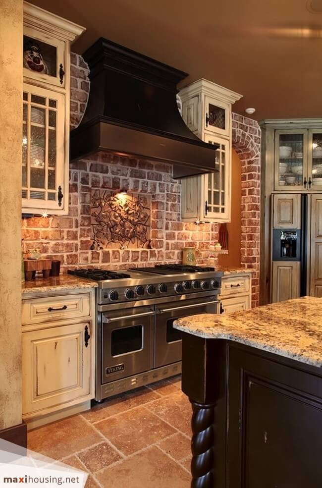 rustic kitchen cabinet runners 27 best ideas and designs for 2019 forest retreat earth toned
