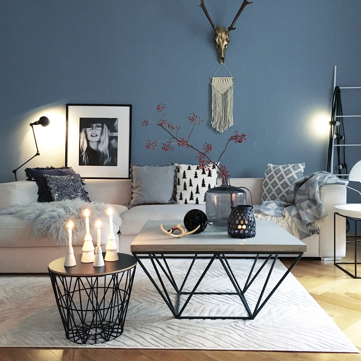 coffee table living room design interior decorating for small rooms 37 best ideas and designs 2019 12 modern minimalist flower candle display in shades of grey