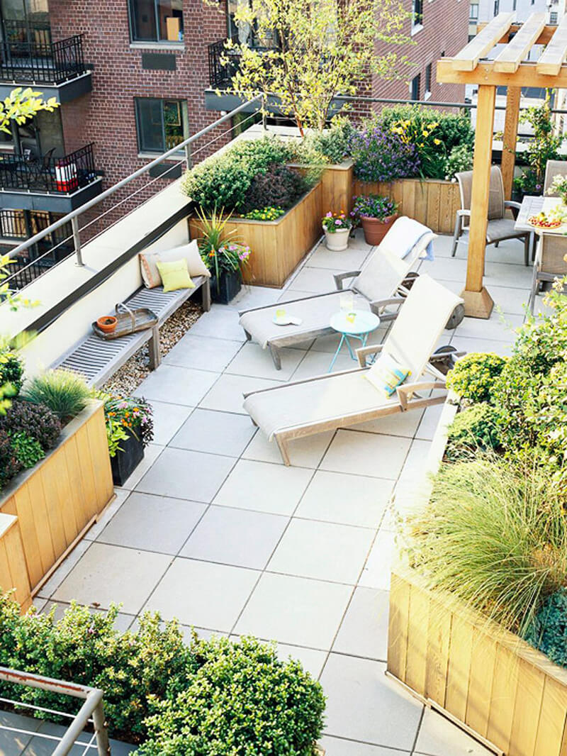 33 best built in planter ideas and
