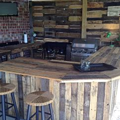 Diy Outdoor Kitchen Plans Modern Island 27 Best Ideas And Designs For 2019 Reclaimed Wood Bar