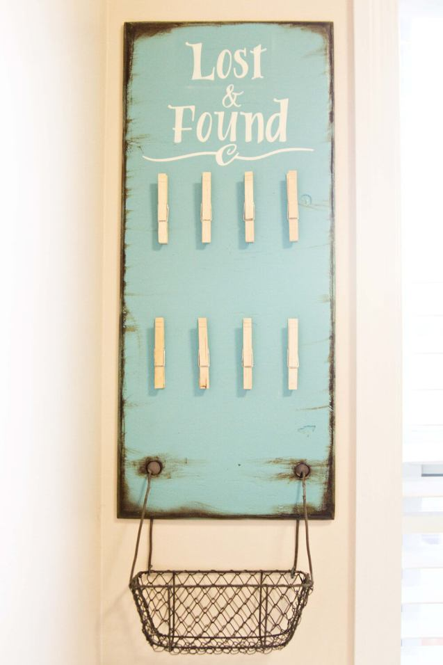 Lost and Found Laundry Organizer