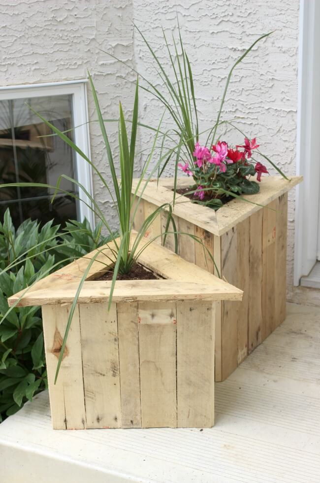 Tall Wooden Plant Stands