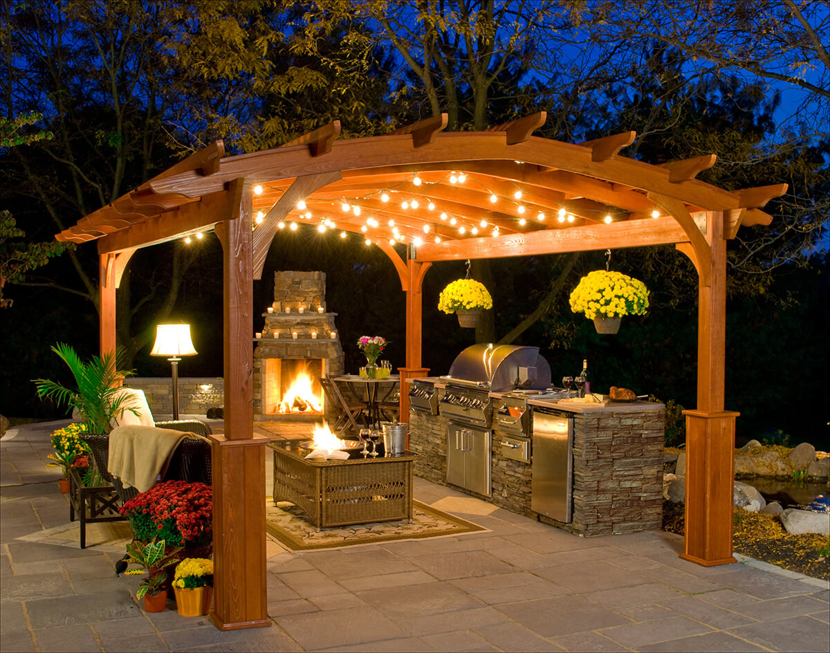 outdoor kitchen patio ideas bridge faucets for 27 best and designs 2019 living room