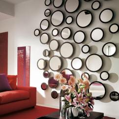 Accent Mirrors Living Room Modern Design Pictures 33 Best Mirror Decoration Ideas And Designs For 2019 Playful Wall Of Round