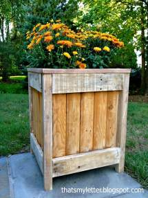 Diy Pallet And Wood Planter Box Ideas Design