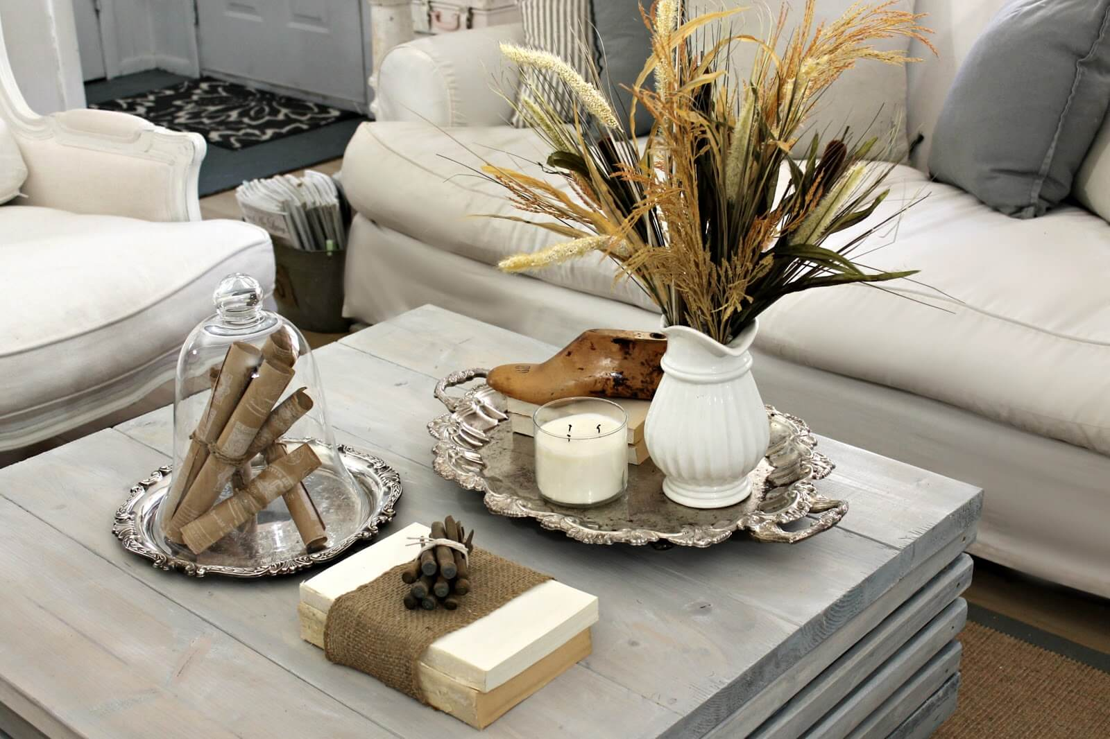 living room coffee table decorations cool wallpaper 37 best decorating ideas and designs for 2019 20 earth toned brown white natural element display with silver accents