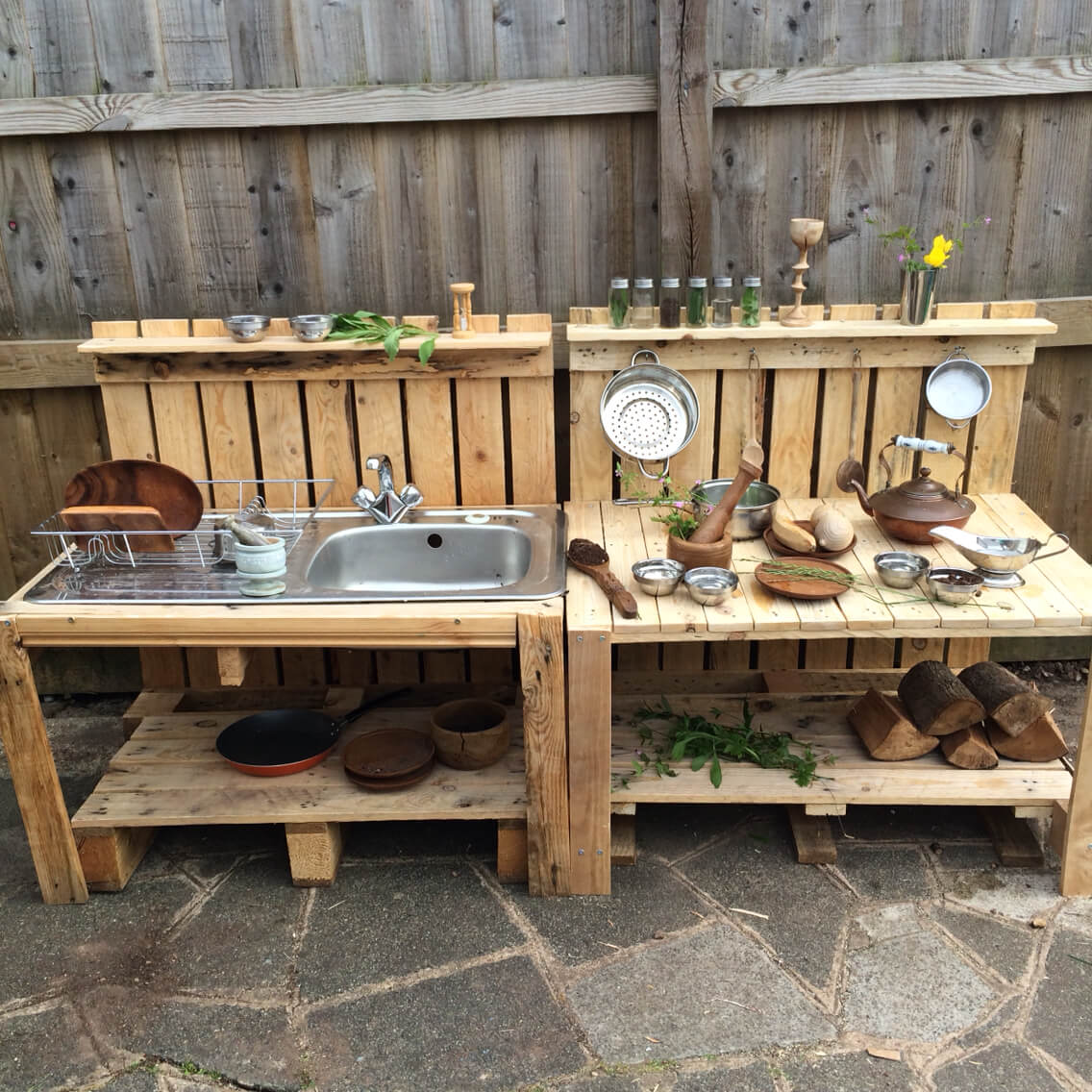 diy outdoor kitchen plans composting waste 27 best ideas and designs for 2019 wood pallet sink prep station