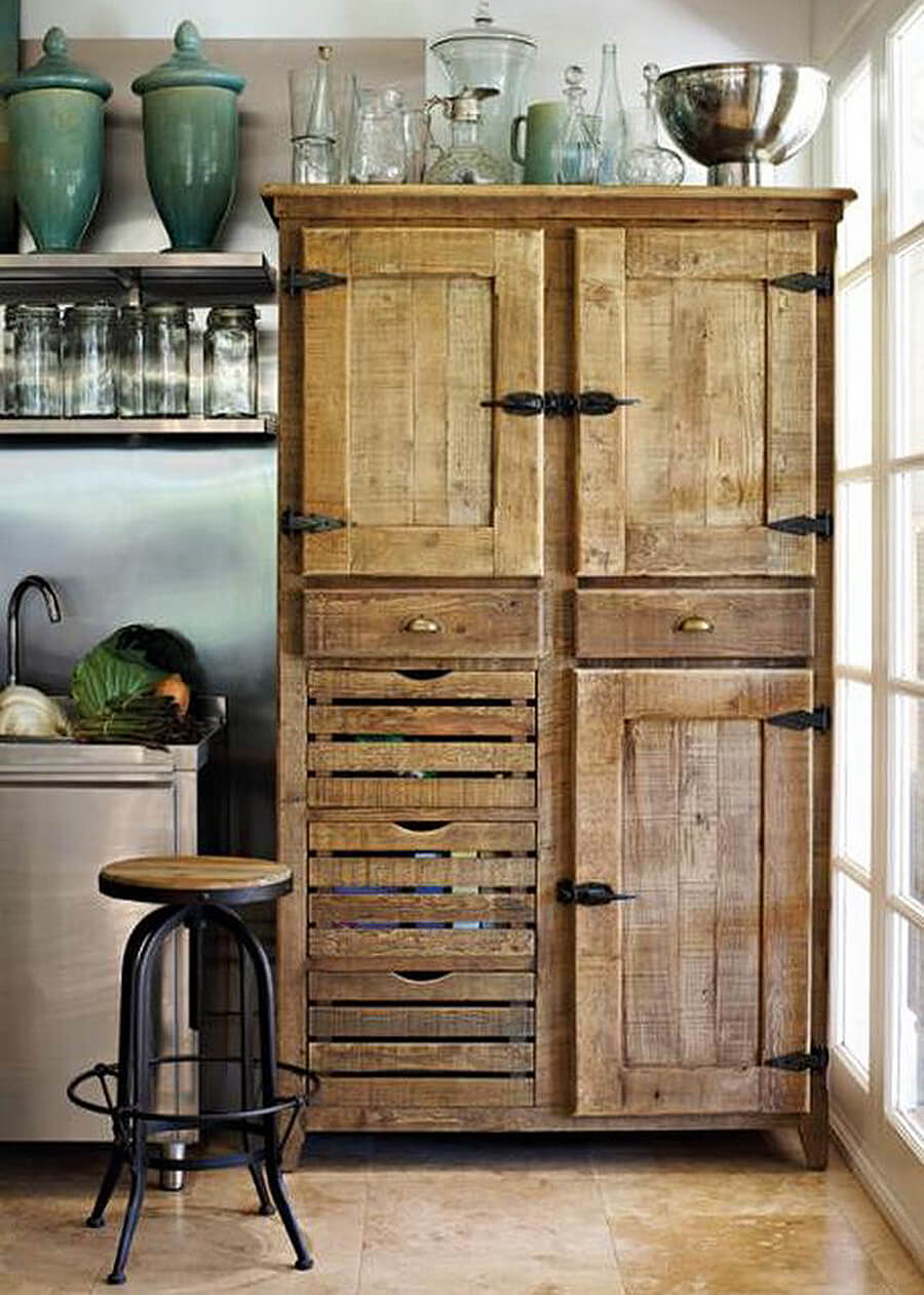 rustic kitchen cabinet countertop stools 27 best ideas and designs for 2019 antique hardware repurposed cabinets