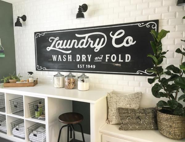 Vintage Laundry Room Decor Ideas And Design 2019