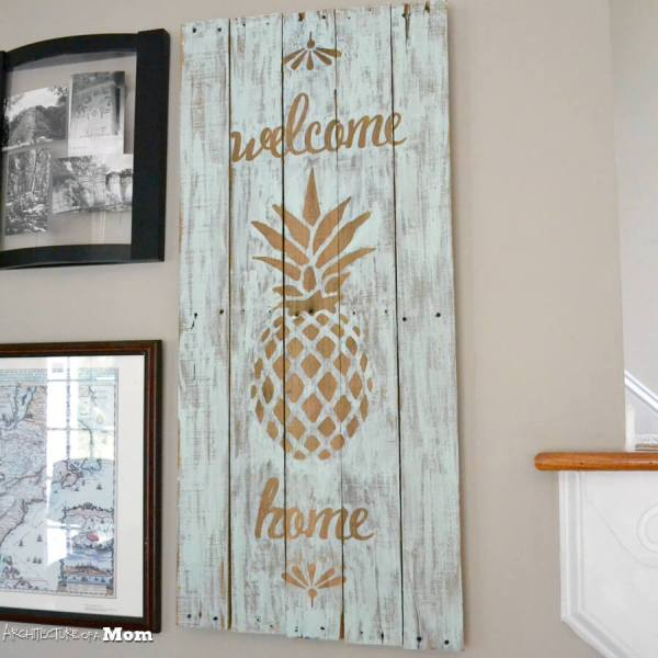 Diy Pallet Signs Ideas And Design 2019