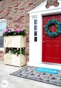 Diy Pallet And Wood Planter Box Ideas Design