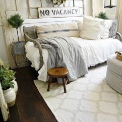 Shabby Chic Small Living Room Ideas With Brown Leather Furniture Decorating 35 Best Farmhouse Decor And Designs For 2019