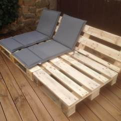 What Are Pool Chairs Made Out Of Beach Chair With Footrest 14 Amazing Diy Pallet Furniture For Practical Outdoor