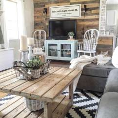 Rustic Decorating Ideas For Living Room Cafe By Eplus %e5%ba%a7%e5%b8%ad 35 Best Farmhouse Decor And Designs 2019 Recycled Barnwood Accent Wall