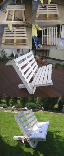 Outdoor DIY Furniture Projects