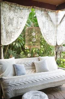 Bohemian Outdoor Patio Curtains