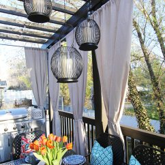 Living Rooms Color Ideas Room Table Behind Couch Outdoor Decor: 13 Amazing Curtain For Porch And ...