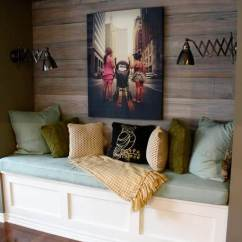 Wood Wall Living Room Grey And Blue Curtains 25 Best Ideas Designs For 2019 Cozy Reading Nook Dark Stained