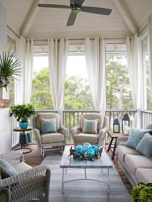 Beach House Porch Decorating Ideas