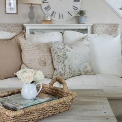 French Country Designs Living Rooms Room Wall Paint Finish 35 Best Design And Decor Ideas For 2019 41 White Linen Couch Barnwood Coffee Table